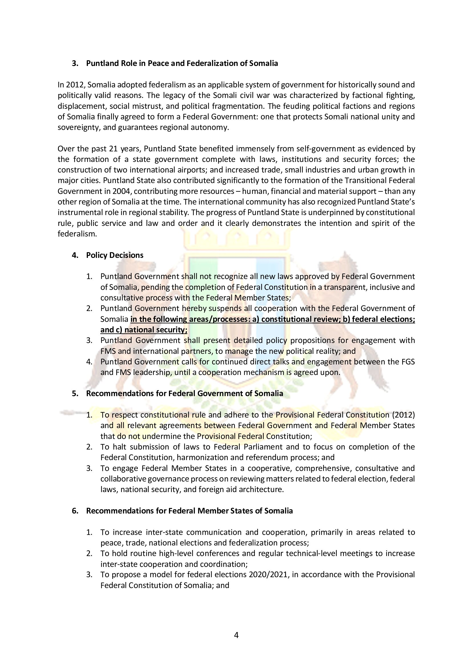 4. Puntland Position paper on Garowe conference_5-11 May 2019_003
