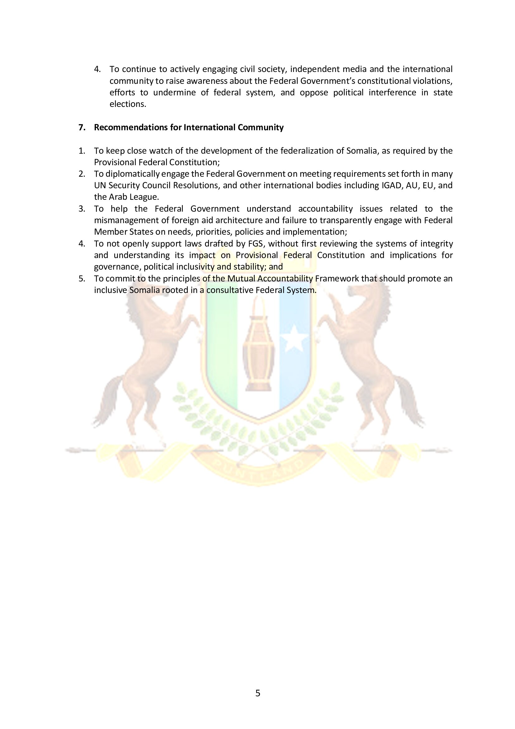 5. Puntland Position paper on Garowe conference_5-11 May 2019_004